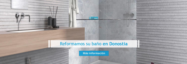 Reforma de baño en Donostia